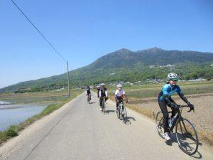 筑波山でサイクリング