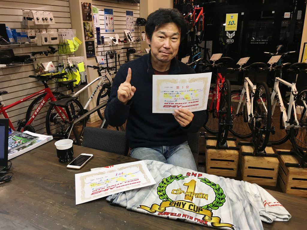 Chiy CUP 優勝