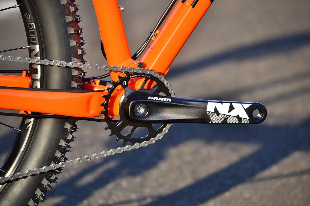 SRAM NXのクランク