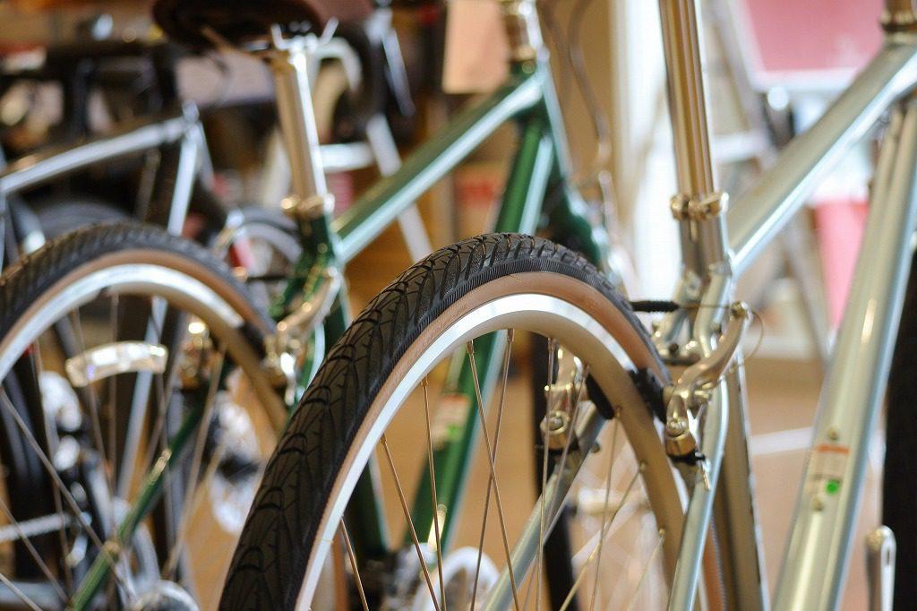 クロスバイクのタイヤ交換もオススメ