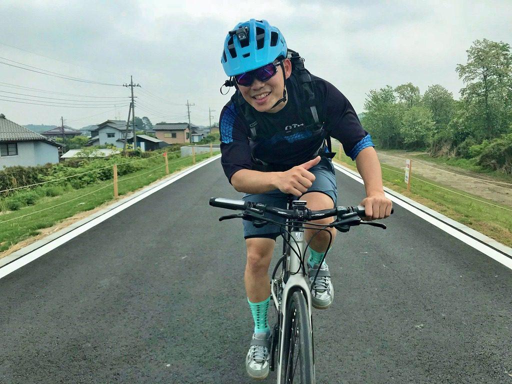 クロスバイクでロングライドに挑戦