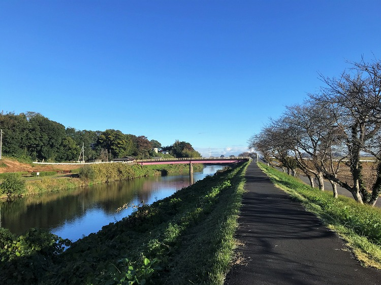 五行川サイクリングロード