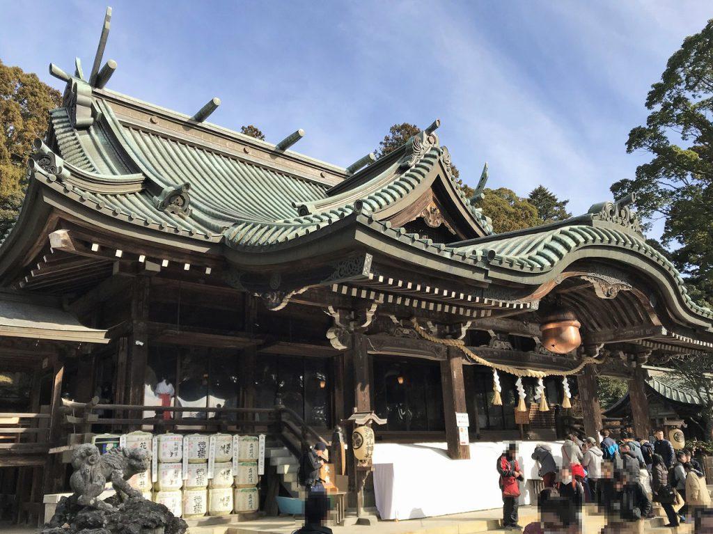 筑波神社で初詣