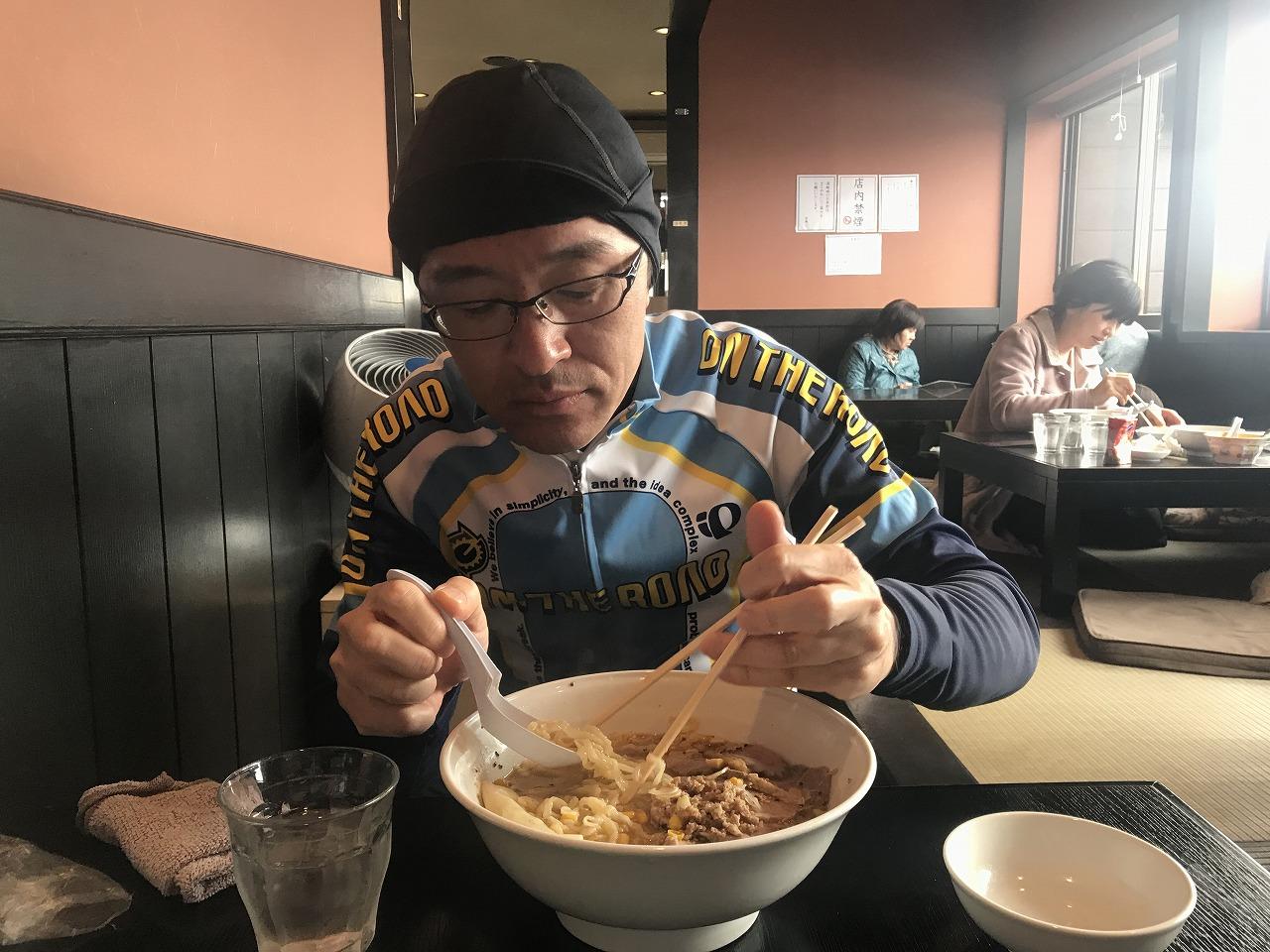 味噌チャーシュー麺 水餃子