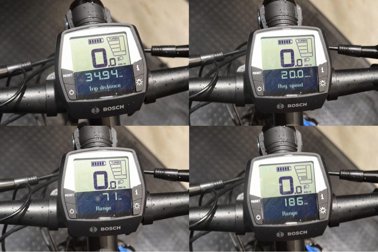 デュアルスポーツのバッテリー残量と走行距離
