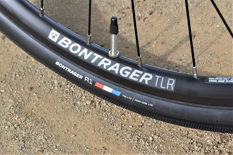 ボントレガーR1タイヤの32C