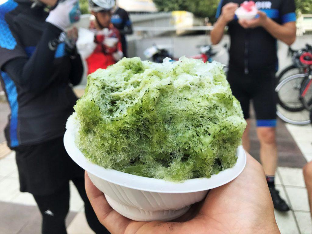 宇治抹茶かき氷