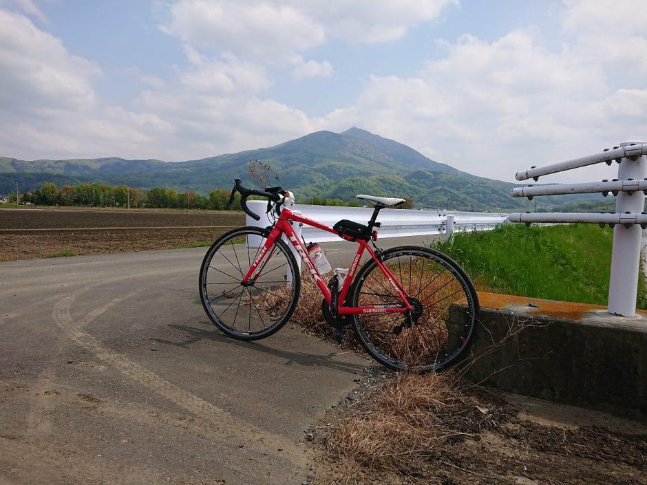 つくば山と自転車